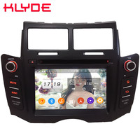 Klyde 4G WIFI Android 9.0 Octa Core 4GB RAM 64GB ROM BT DSP Car DVD Multimedia Player Radio Stereo For Toyota Yaris 2005 2013