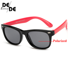 Flexible Kids Sunglasses Polarized Child Baby Safety Coating Sun Glasses UV400 Eyewear Shades Infant oculos