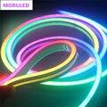Гибкая светодиодная лента WS2812 WS2812B, гибкая Водонепроницаемая трубка из неонового шнура, 5 в постоянного тока, 0410, 0612, 96 светодисветодиодный, s/...