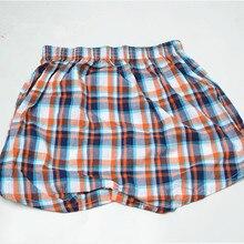Men's Pyjama Pants Short Summer Pants Woven Cotton Sleep Bottoms