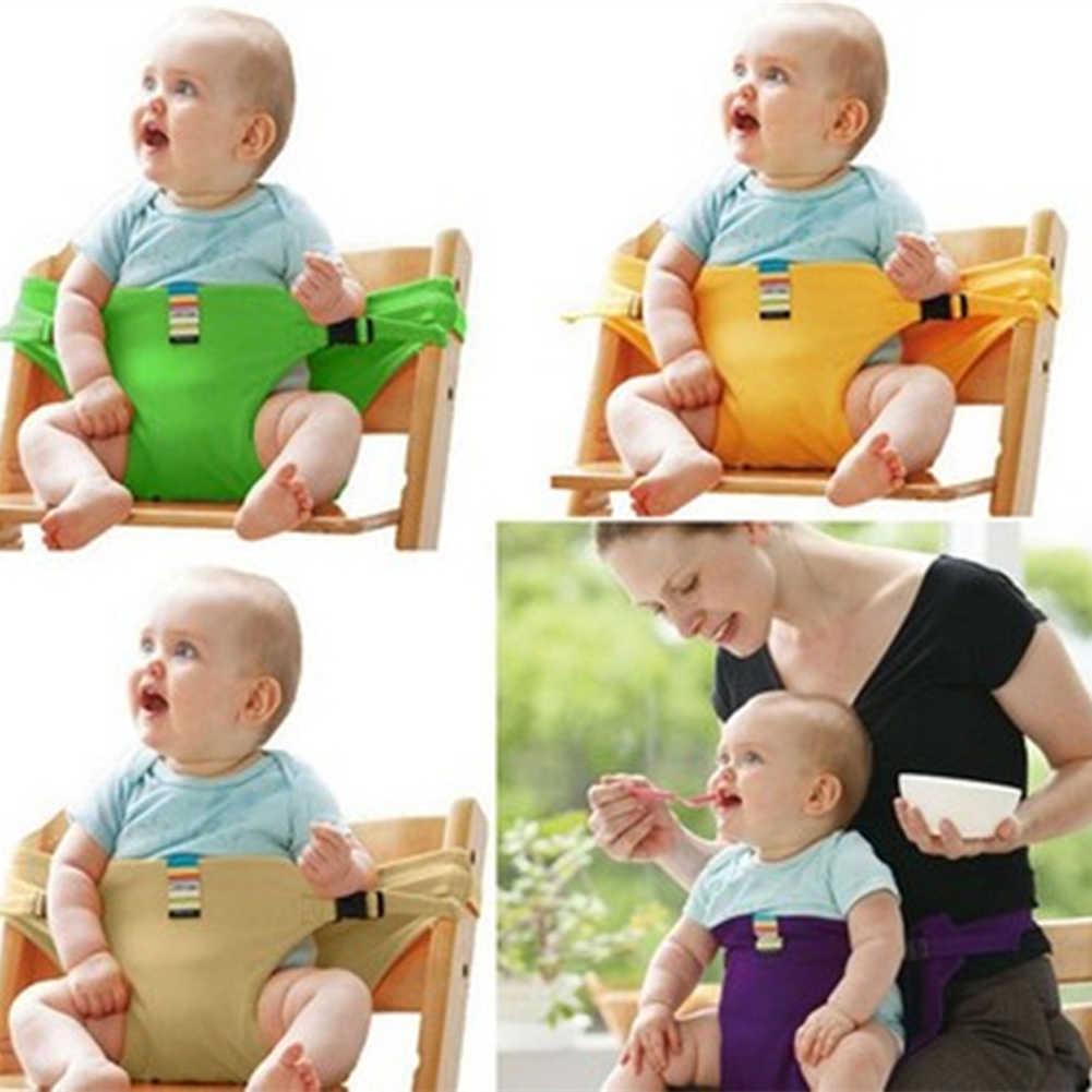 Bebê jantar assento cinto de segurança portátil infantil envoltório criança alimentação cadeira transportadora cintos de segurança para carrinho de bebê alta cadeira pram 48*50