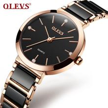 OLEVS 2020 New Fashion Simple Women Watches Casual Ladies ce
