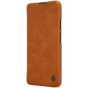 Image 5 - Nillkin צ ין ספר Flip עור Case כיסוי עבור Huawei P40 לייט נובה 7i נובה 6 SE