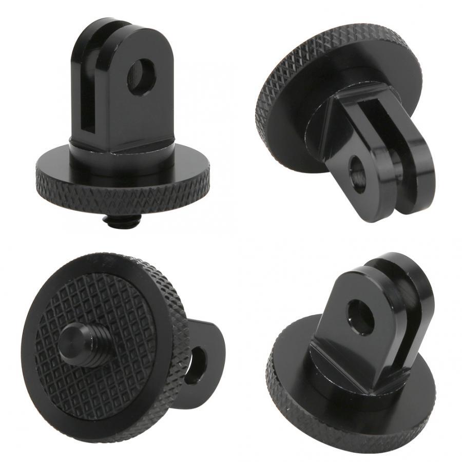 Aluminum Alloy 1/4 inch Mini Tripod Adapter Mount for GoPro Hero 8 7 6 5 4 Black Sjcam M10 Xiaomi Yi 4K Eken Go Pro Accessory 3