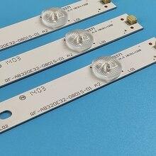 LED backlight strip 8 lamp for RF-AB320E32-0801S-01 TK97K4000000 T320XVN02.0 M320X13-E4-H (G3) LED32B16