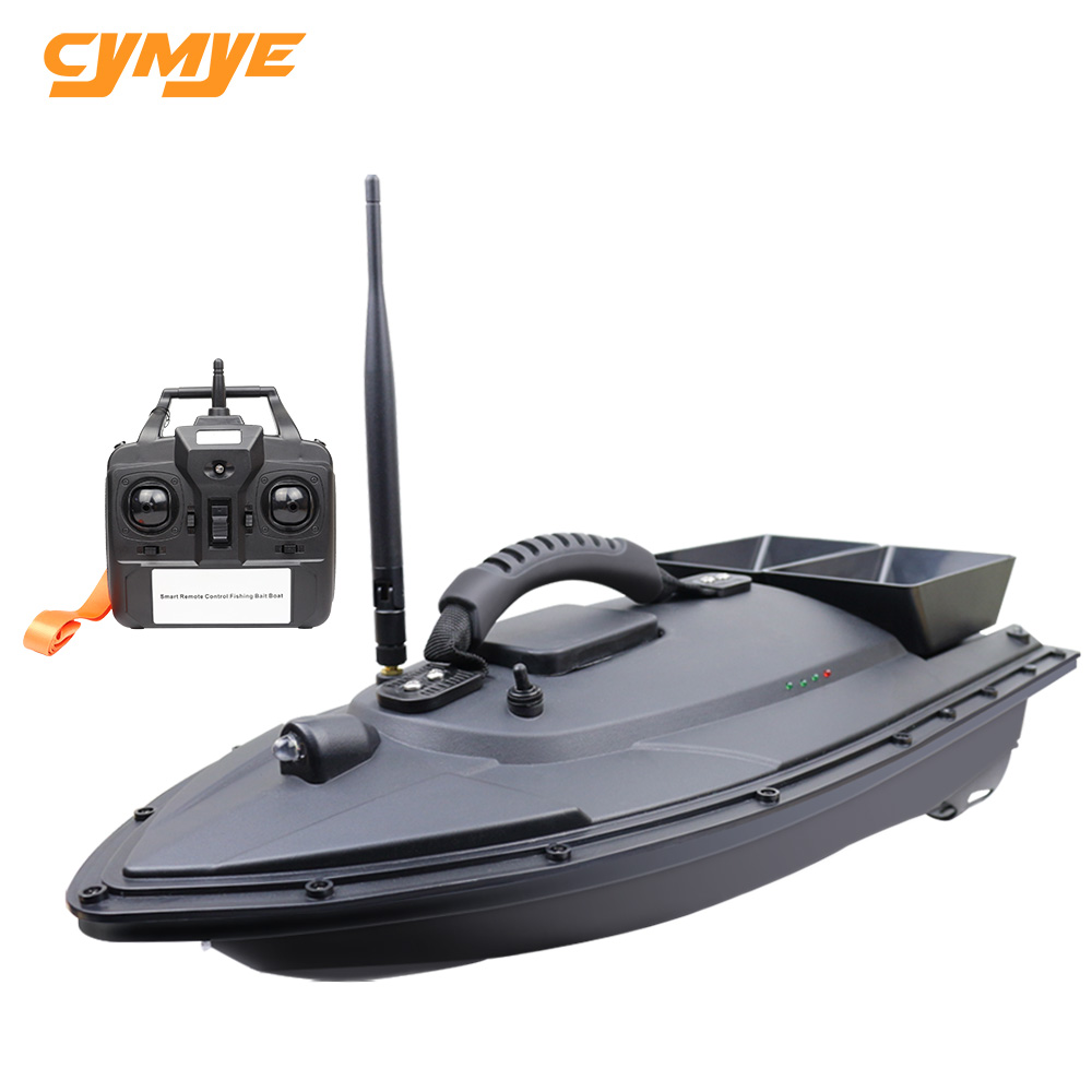 Cymye Fish Finder RC Boat X6 1.5kg Loading 500m Remote Control Fishing Bait Boat 1