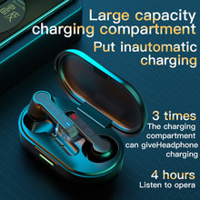 BOHM auriculares inalámbricos L32 con Bluetooth 5,0, dispositivo de audio estéreo, TWS, deportivo, para todos los teléfonos inteligentes