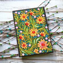 5D Diamond Painting Notebook Special Shaped New Arrivals Flower Embroidery Sale A5 Diary Book Mosaic Pictures Gift