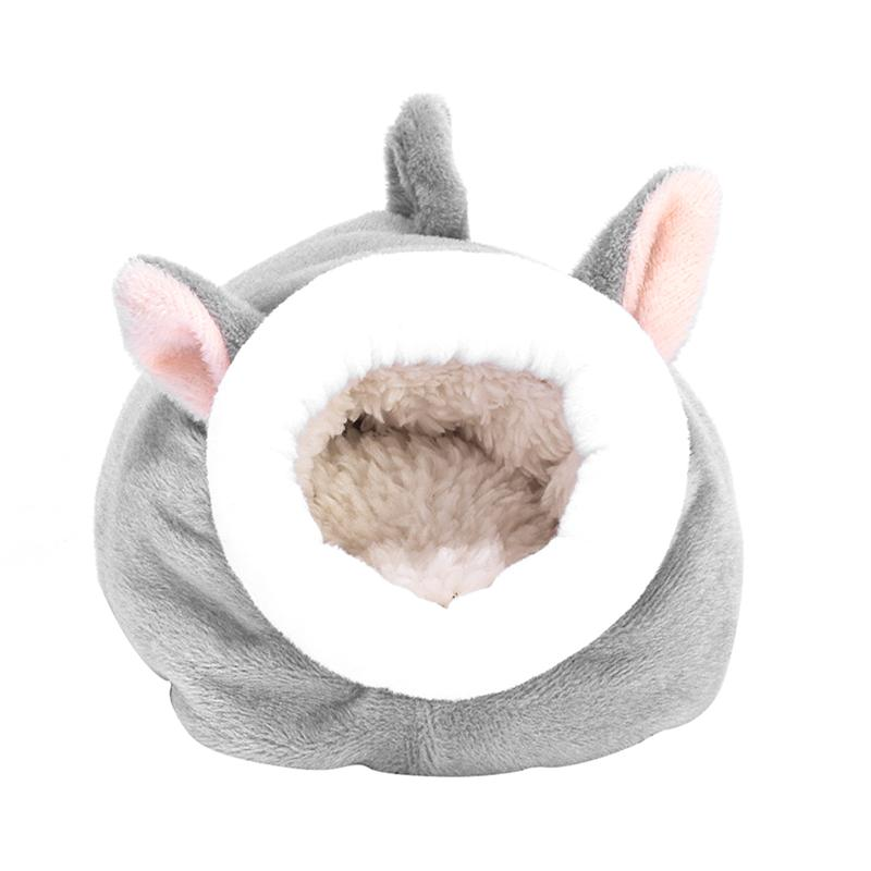 Hamster Cotton Nest Hedgehog Sleep Bed Winter Warm Pet Nest Sleeping Bag Small Beds House Pet Supplies Small Animals Cages
