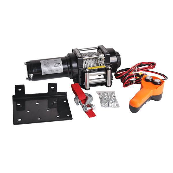 12V/24V beach truck 4000 pounds electric winch beach winch portable winch|Lifting Tools & Accessories| |  - title=