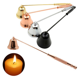Нержавеющая сталь бездымного свеча фитиль колокольчик уютное домашнее ручное устройство набор инструментов аксессуары для свечей Держате...