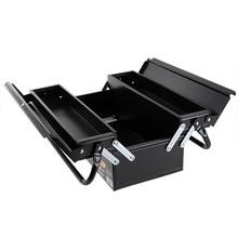 Iron Parts Tool Box Organizer Drill Bit Case Craft Storage No Tool Professional Caja De Herramientas Tools Packaging BD50TB
