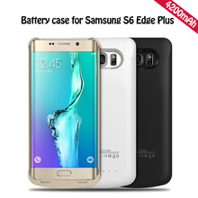 Power Case For Samsung Galaxy S6 edge Plus Charging 4200mAh Ultra Thin Fast External Backup Bank Charger
