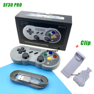 8Bitdo SF30 Pro Gamepad Bluetooth Wireless Controller for Nintendo Switch/ MacOS/ Android/ Raspberry Pi /Windows Motion Controls