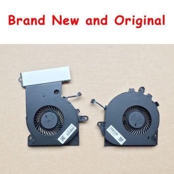 Fan For HP OMEN 15-CE 17-AN TPN-Q194 929455 929456-001 NFB74A05H-001 NS75B00-16M02 NS85B00-16M03 NFB76A05H-001 G3A-GPU G3A-CPU