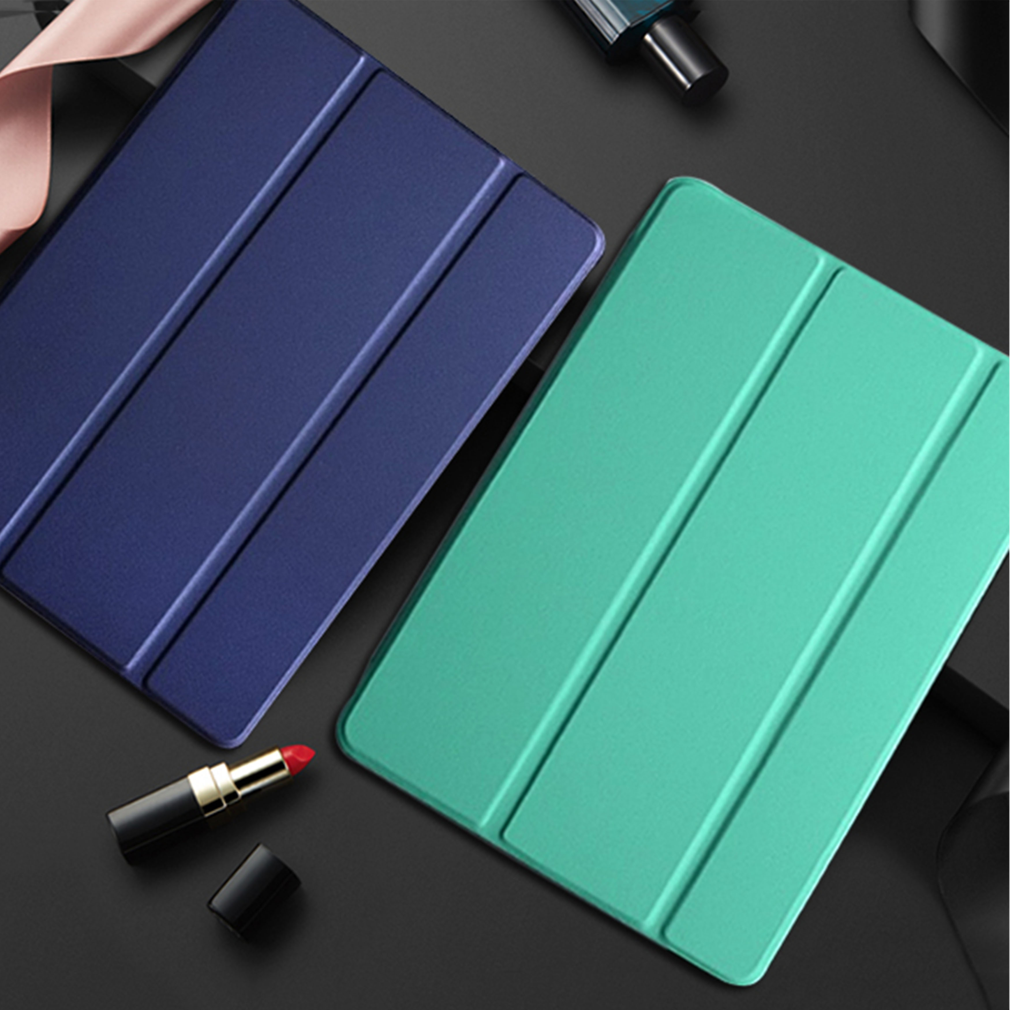 Case For Samsung Tab A 10.1 2019 T510 Cover PU Leather Smart Protect Shell For Samsung Galaxy Tab A 10.1 SM-T510 SM-T515 Coque