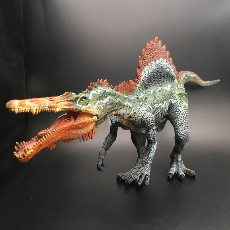 Jurassic World <font><b>Dinosaur</b></font> Jurassic Park Spinosaurus Model Collectors Pvc Action Figure <font><b>Toys</b></font> For Chlidren Birthday Christmas Gift image