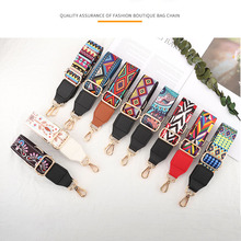 Bag strap luxury designer Handbag Wide Colored belt  for Woman Crossbody replacement Accessories Nylon/Cotton Adjustable strap