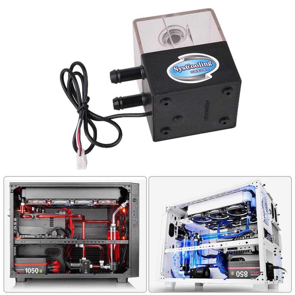 SC-300T Ultra-quiet 12V Water Pump for CPU Liquid Cooling Computer System Computer components and hardware