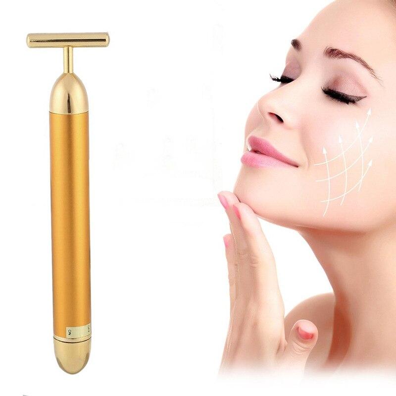 Creative Beauty Yellow Rod Eye Massager Rod Eye Beauty Instrument Beauty Massager Vibrator