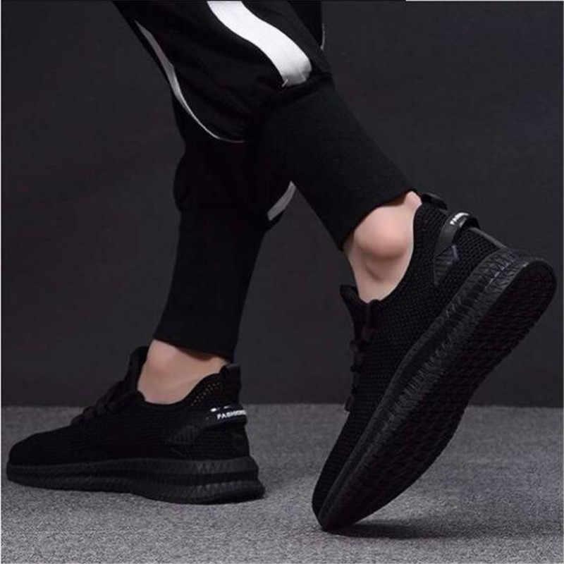 2019 cho Nam Giày Thể Thao Mùa Hè Thu Cực Tăng Cường Giỏ Giày Thường Thoáng Khí Sapato Masculino Krasovki Zapatos De Hombre