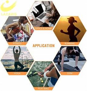Image 5 - LAZAWG Leggings Sauna thermo sueurs pour femmes, Leggings en néoprène, pour la perte de poids, Compression, modelage du corps