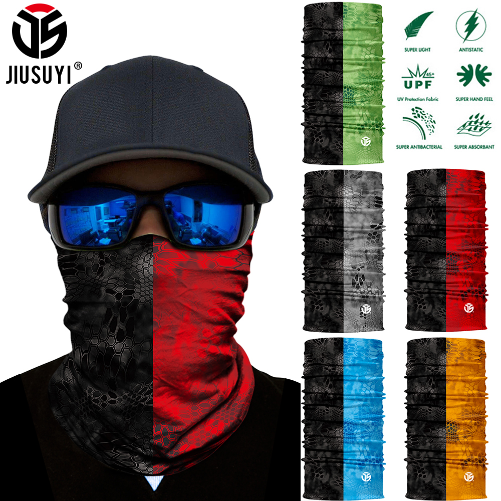 Multifunctional Scarf Seamless Face Cover Headband for Cycling Motorcycle Boys UV Protection