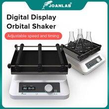 JOANLAB Display LCD Shaker Lab oscillatore orizzontale multiuso a velocità di oscillazione Lab agitatore orbitale da laboratorio a velocità regolabile