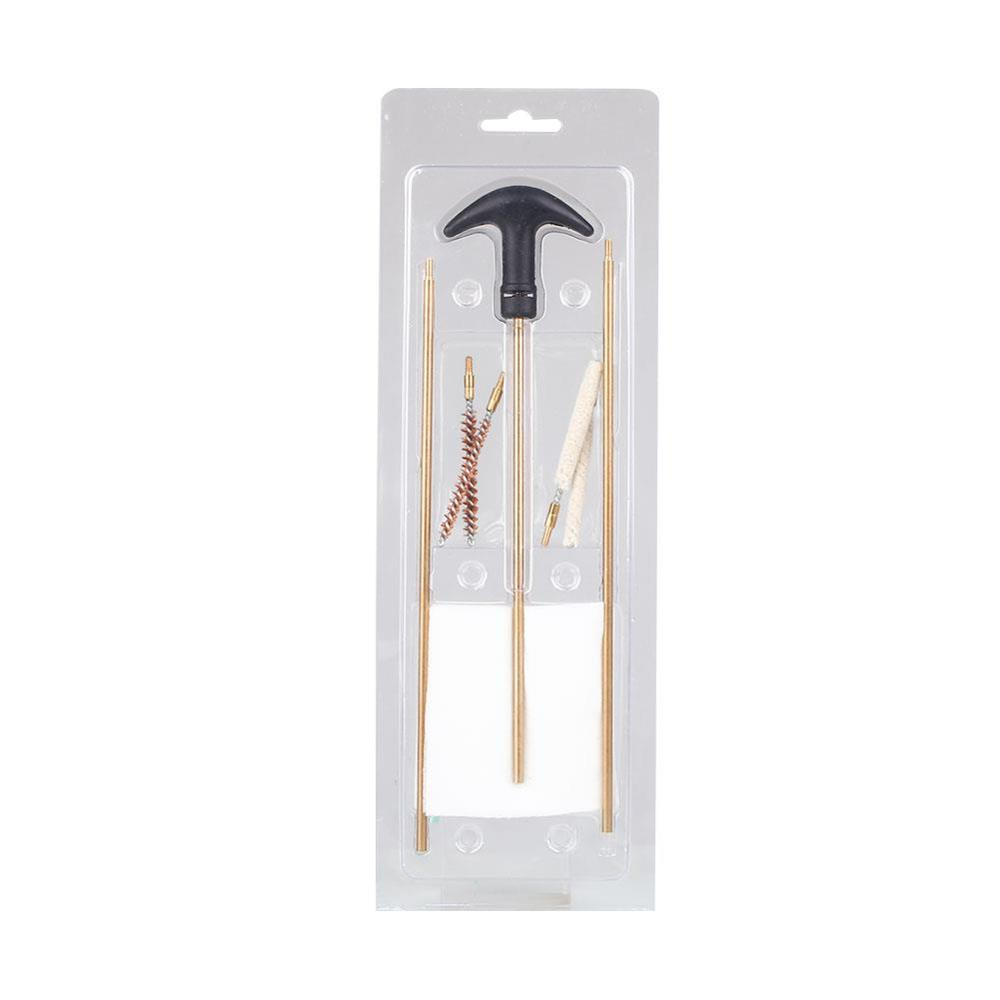 Portable Standard General 4.5/5.5MM Gun Tube Brush Set Cleaning Brush Suit Tactical Equipment Cleaning Tool