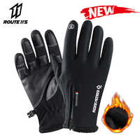 Motorrad Handschuhe Moto Handschuhe Winter Thermische Fleece Gefüttert Winter Wasserdicht Touchscreen Nicht-slip Motorrad Reiten GlovesR #