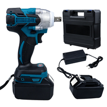 Rechargeable Electric Wrench 18V Battery 320N.m Torque Brushless Electric Wrench Screwdriver