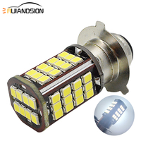 1pc 0.73A 8.76W Motorcycle Headlight DRL Moto 56SMD 3030 LED Bulbs Lights P15D 25 3 Motobike Scooter Lamps White 10 30V|  -