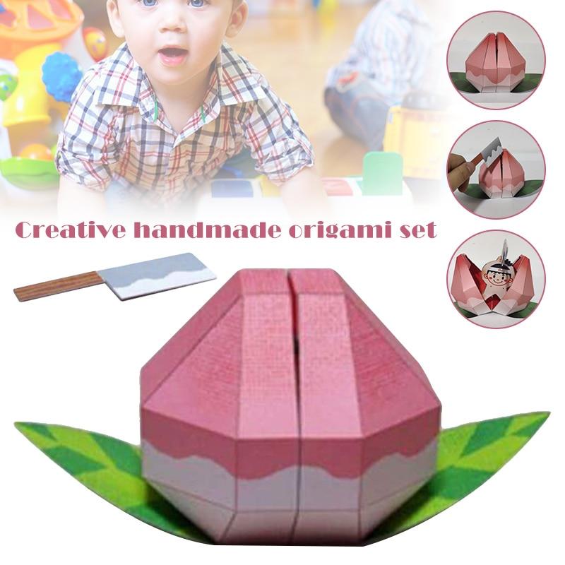 Innovative Origami Toys Folded Handmade Paper Crafts Decor Model DIY Toy BM88