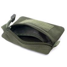 Открытый EDC сумка кошелек сумка для хранения мелочей Водонепроницаемая портативная дорожная сумка поясная на молнии для кемпинга туризма