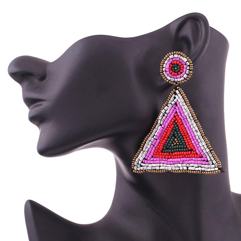 Drop earrings for women big earrings