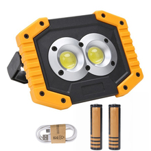 COB Work Light With Battery Rechargeable LED Work light LED Camping Lamp Waterproof Outdoor Emergency Lamp LED USB D30