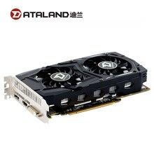 DATALAND RX 460 2GB Video Karte GPU Für AMD Radeon RX460 2G Grafiken Karten DVI Core 1212MHz video Speicher 7000MHz Spiel Karte Verwendet
