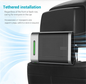 Image 4 - Giahol HEPA מסנן אוויר לרכב מטהר מיני רכב אוויר מטהר להסיר אבק עשן אבקה נייד קטן אוויר מנקה עבור בית