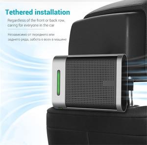 Image 4 - Giahol Mini purificateur dair Portable pour voiture, filtre HEPA, purificateur dair pour voiture, élimination de la poussière, du Pollen et de la fumée, pour la maison