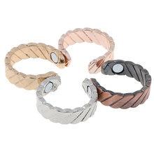 1 шт кольцо на палец для помощи во сне против храпа магнитная