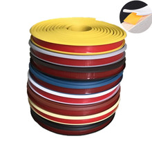 1 м клей ПВХ кромкооблицовочный ленты этиленового пропилен-каучука прокладки кабинетный стол края угловойой протектор мебели шпона украше...