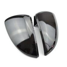 Achteruitkijkspiegel Cover Side Wing Achteruitkijkspiegel Case Covers Glossy Black Voor Vw Golf 7 MK7 MK7.5 Gti R gte Gtd 2013 2018