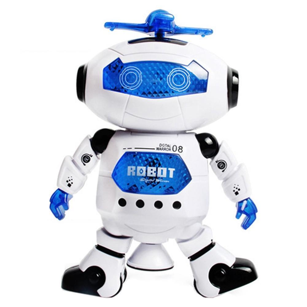 Детская игрушка, Электрический танцующий робот, Спиннер, танцор, Интеллектуальный космический робот, вращающаяся музыкальная игрушка