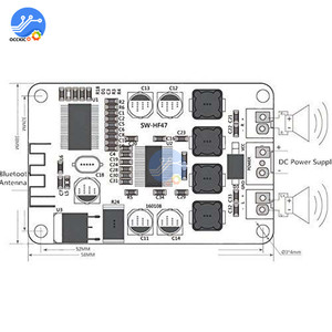 Image 5 - TPA3110 2x15W Bluetooth Audio Power Amplifier Board For 4/6/8/10 Ohm Speaker Dual channel Sound quality