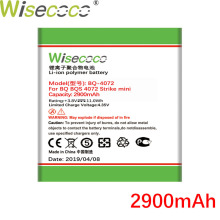 WISECOCO 2900mAh Battery For BQ BQS 4072 BQ-4072 strike mini  Mobile Phone In Stock Latest Production With Tracking Number купить недорого в Москве