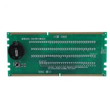 Two in One Desktop Motherboard Test Card DDR2 / DDR3 With Light Tester