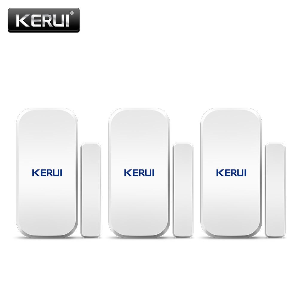Ukraine Stock KERUI D025 433MHz Wireless Window Door Magnet Sensor Detector For Home Wireless Alarm System