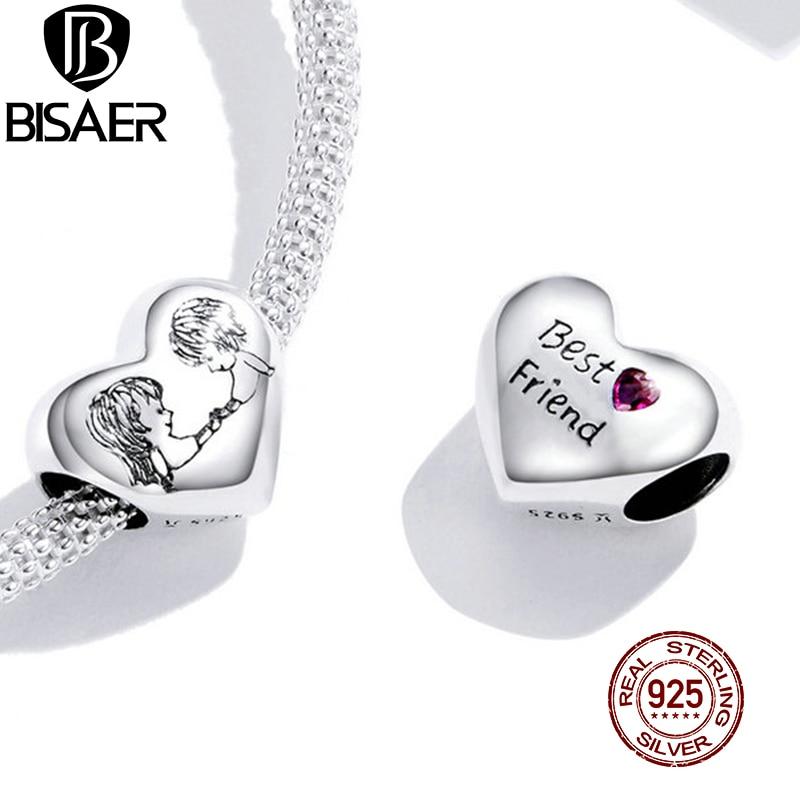 Подвеска для браслета и ожерелья из серебра 925 пробы с фианитами