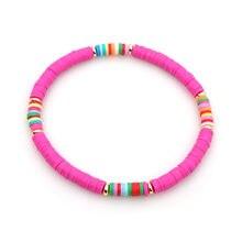 Go2boho браслет для женщин femme браслеты дружбы летние heishi