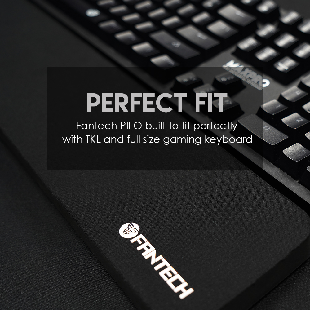 FANTECH AC4101 Клавиатура эргономичный браслет 35,9X9,5X18 см Нескользящая и изготовлена из натурального каучука для запястья клавиатура для ПК-3